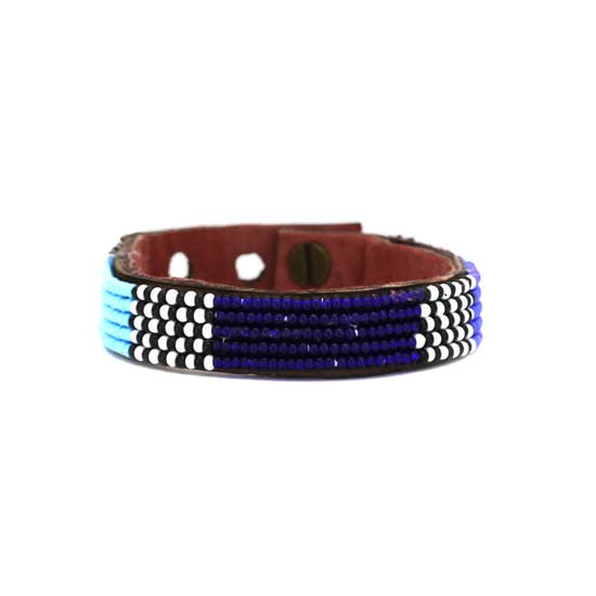 Blue Atlas Cuff