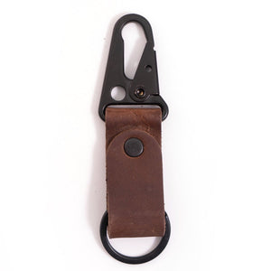 Rustico Leather Clip Keychain