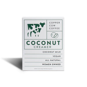 Copper Cow Coffee - Dairy-Free Coconut Creamer | 8 Pack