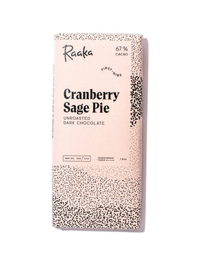67% Cranberry Sage Pie Chocolate Bar - Limited Batch