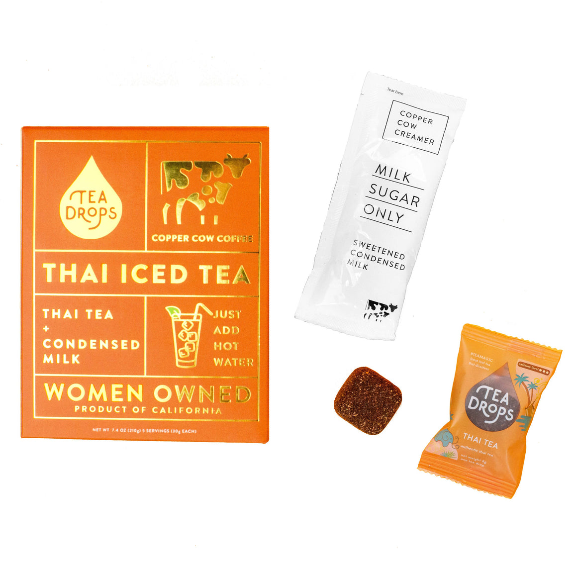 Tea Drops Thai Iced Tea Kit