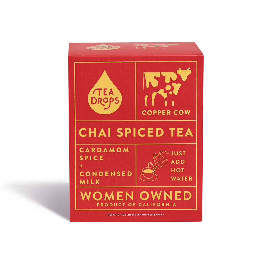 Tea Drops Chai Iced Tea Kit