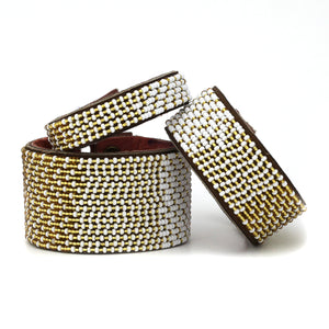 Ombre Gold & White Cuff