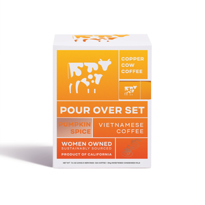 Copper Cow Coffee - Pumpkin Spice Latte | 5-Pack