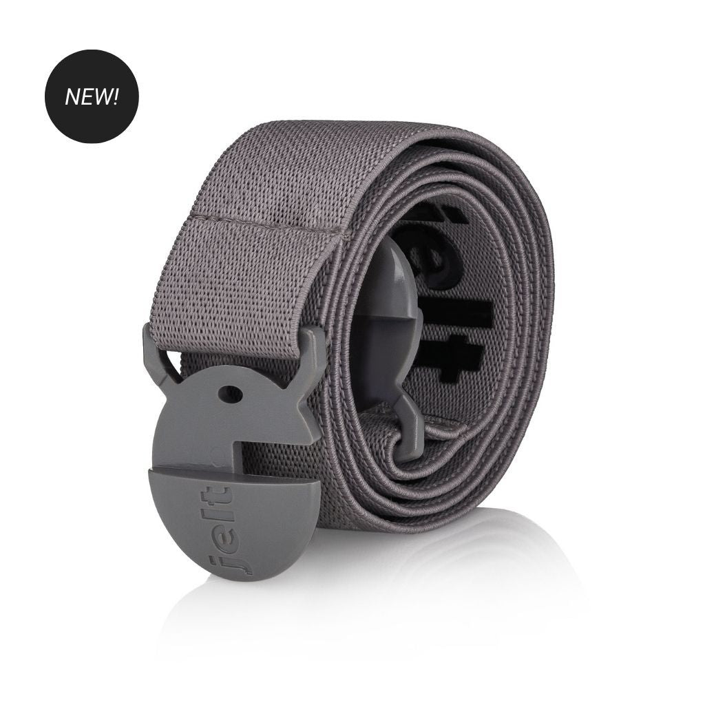Jelt Steel Grey Elastic Belt