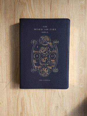 The Word on Fire Bible, Vol, 1: The Gospels - Leather Soft Cover