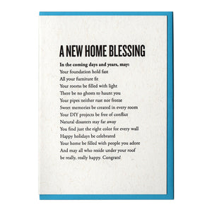 A New Home Blessing