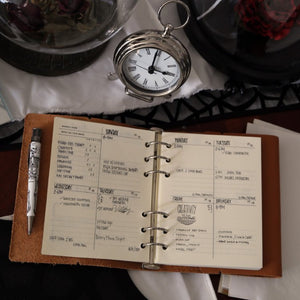 Rustico Leather Weekly Planner