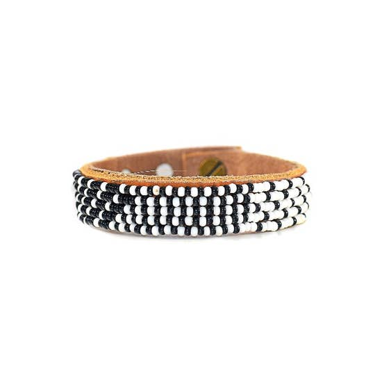 Black & White Ombre Cuff