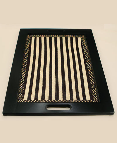 Columbian Arrow Cane Wooden Tray
