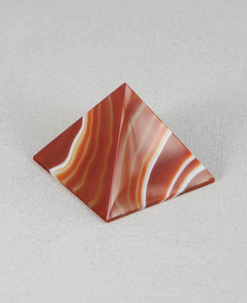Agate Gemstone Pyramid