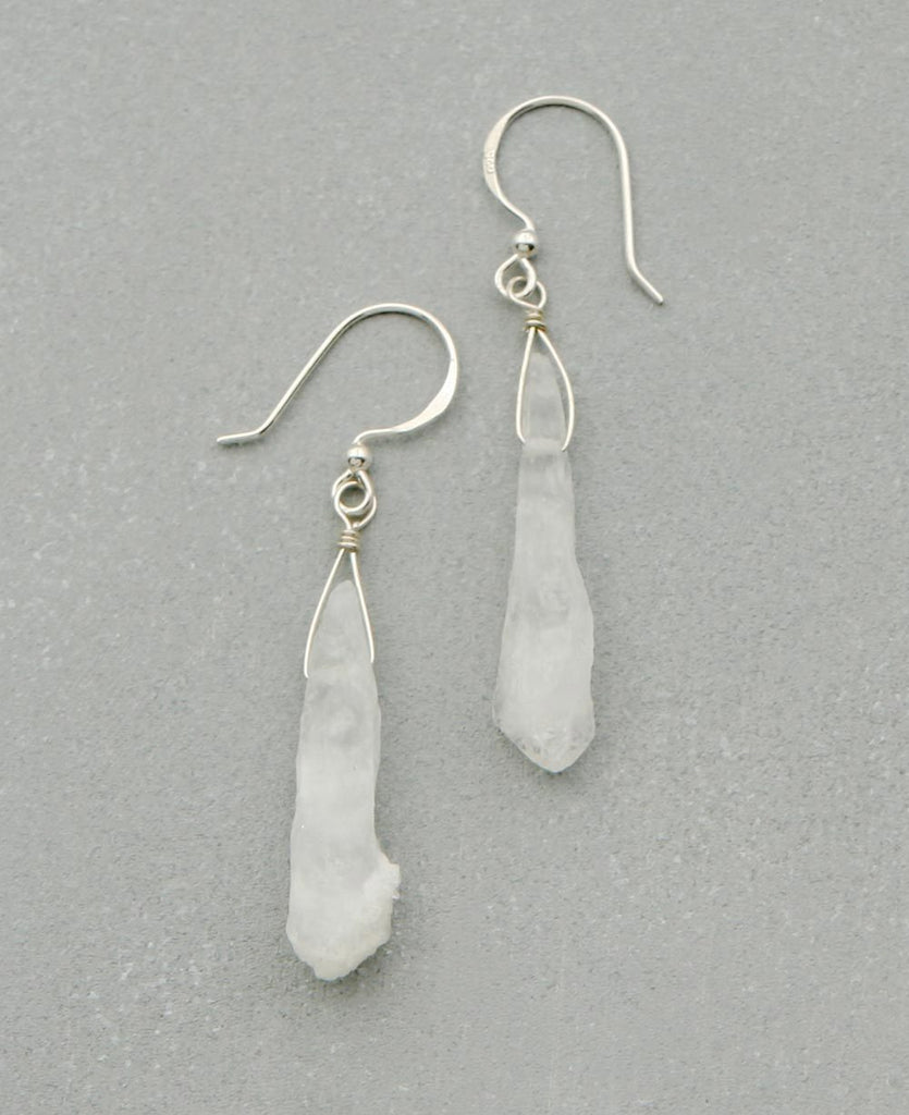 Crystal Shard Earrings