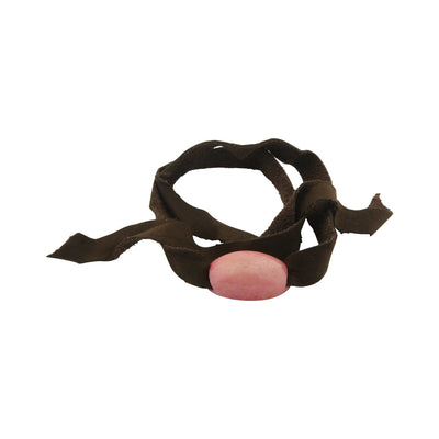 Tagua Nut Leather Wrap Bracelet