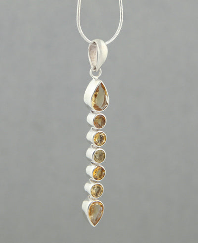 Citrine Gemstone Pendant
