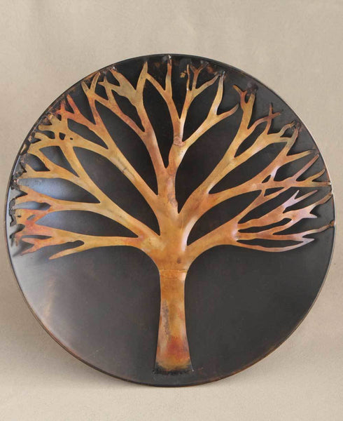 Tree of Life Disk Art, Outdoor Wall Hanging