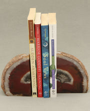 Agate Gemstone Bookends