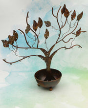 Shabby Chic Tree of Life Jewelry Holder