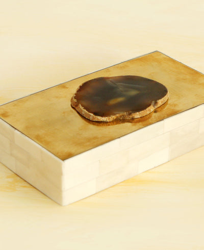 Agate Bone Box