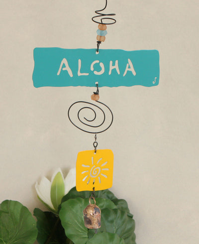 Eco-Friendly Aloha Wind Chime, USA