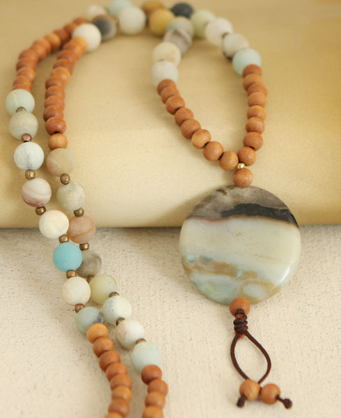 Gemstone Amulet Necklace