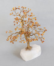 Amber Gemstone Tree
