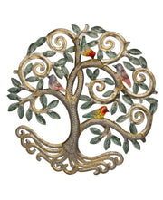 Fair Trade Tree of Life Hanging with Songbirds