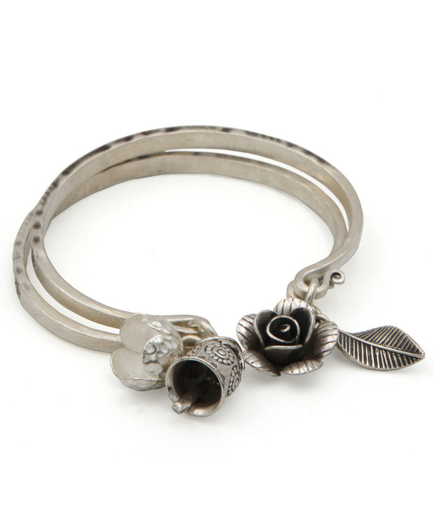 Fish and Flower Bracelet