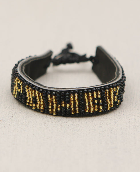Beaded Kenyan Power Bracelet