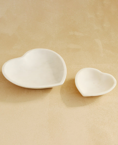 Heart Marble Bowls