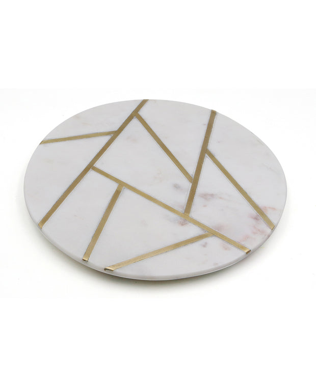Geometric Serving Tray