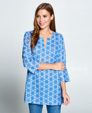 Blue Tunic Top