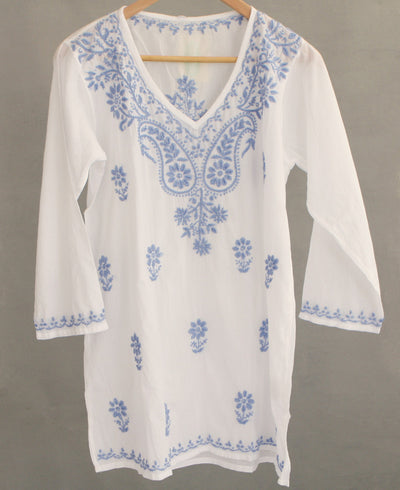 Blue Blossoms Tunic
