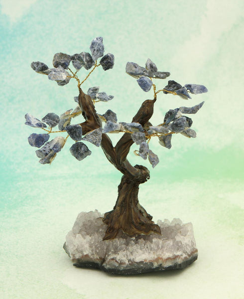 Blue Sodalite Gemstone Tree
