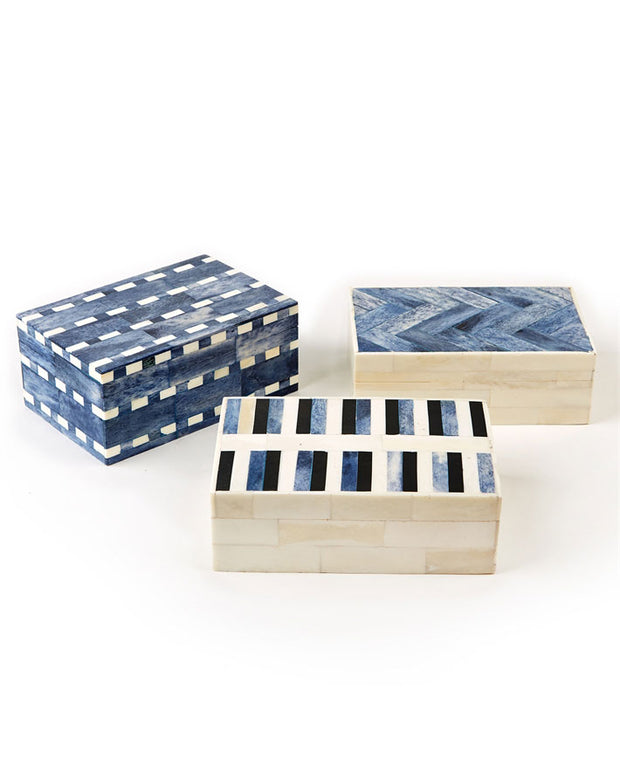 Mosaic Bone Tile Box