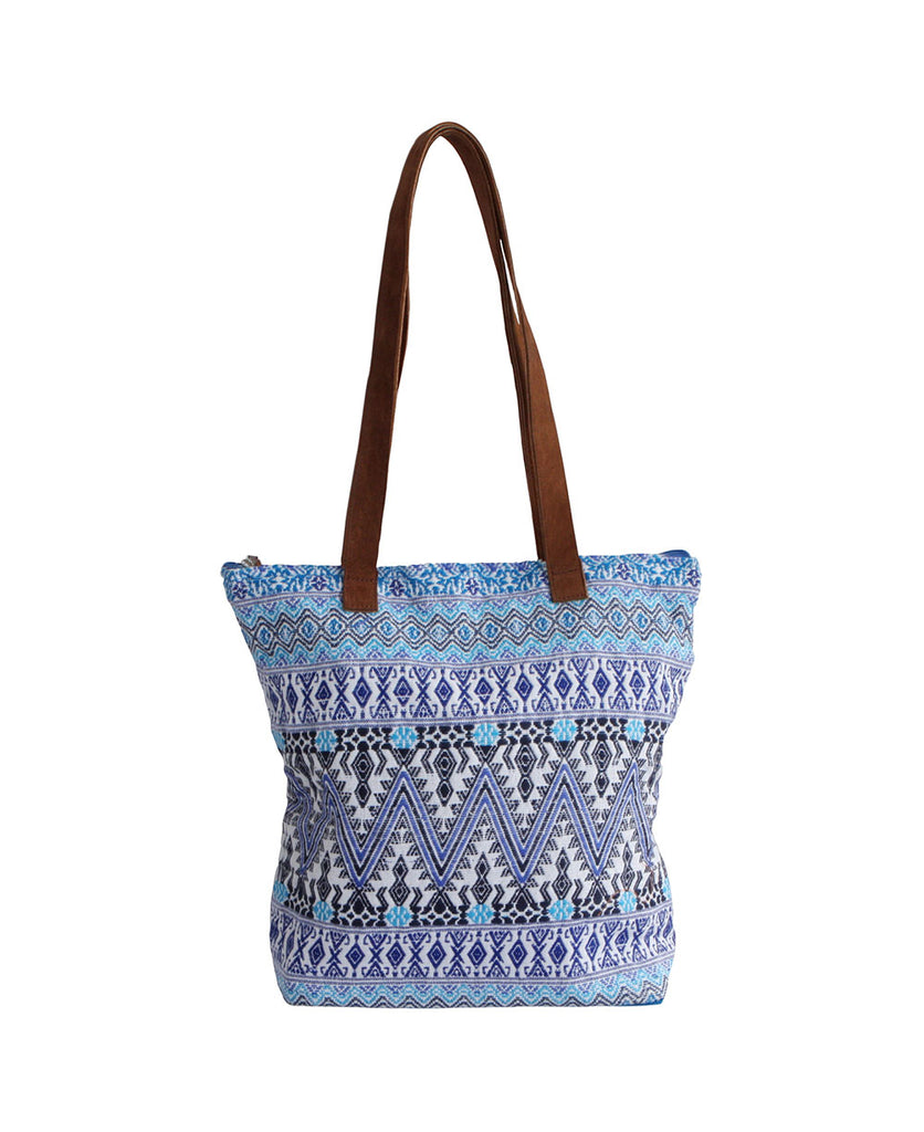 Woven Comalapa Tribal Travel Bag, Guatemala