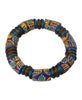 Hand Painted Glass Bead Ghana Bracelet, Multiple Colors