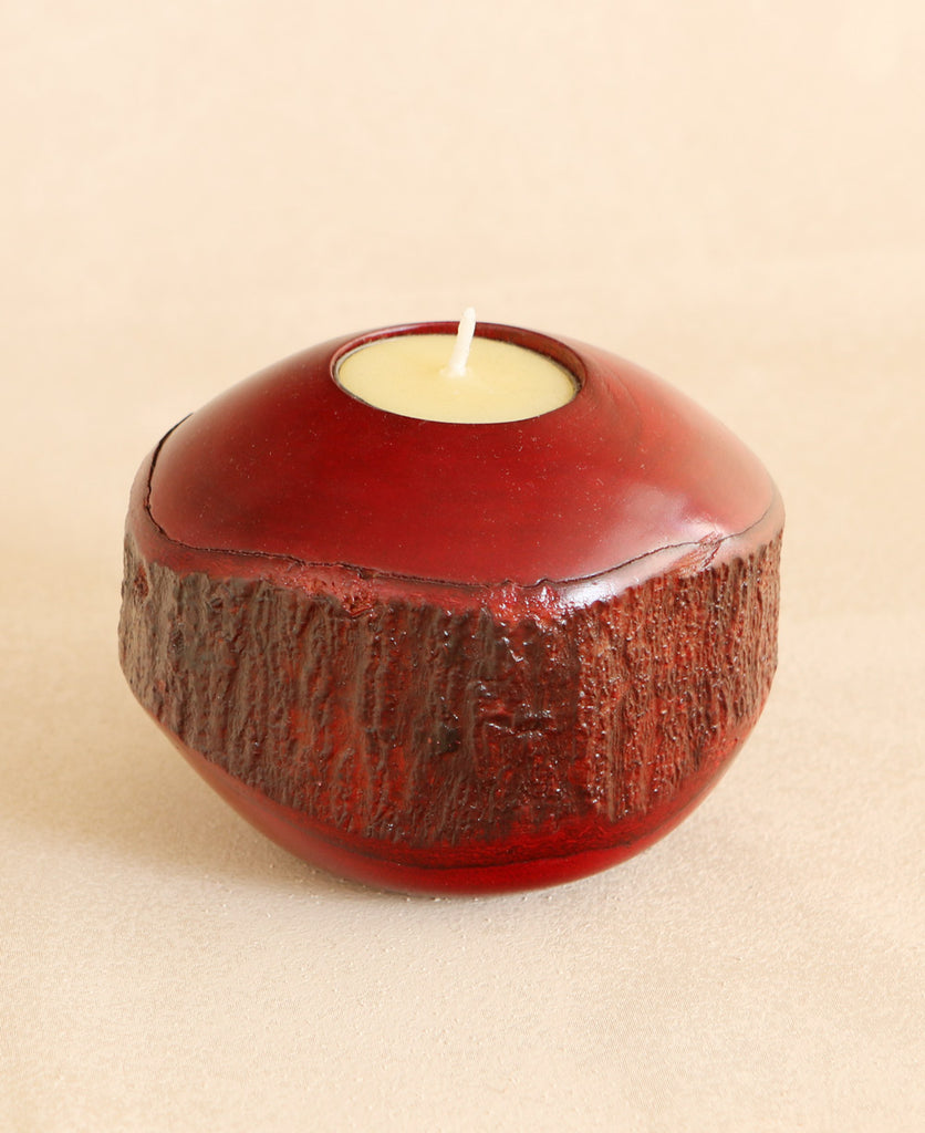 Eco-Friendly Mango Wood Tealight Holder, Thailand