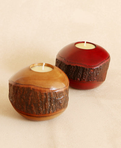 Mango Tealight Holders