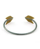 Lucky Brass Arrow Cuff, USA