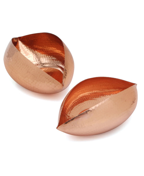 Copper Tealight Holders