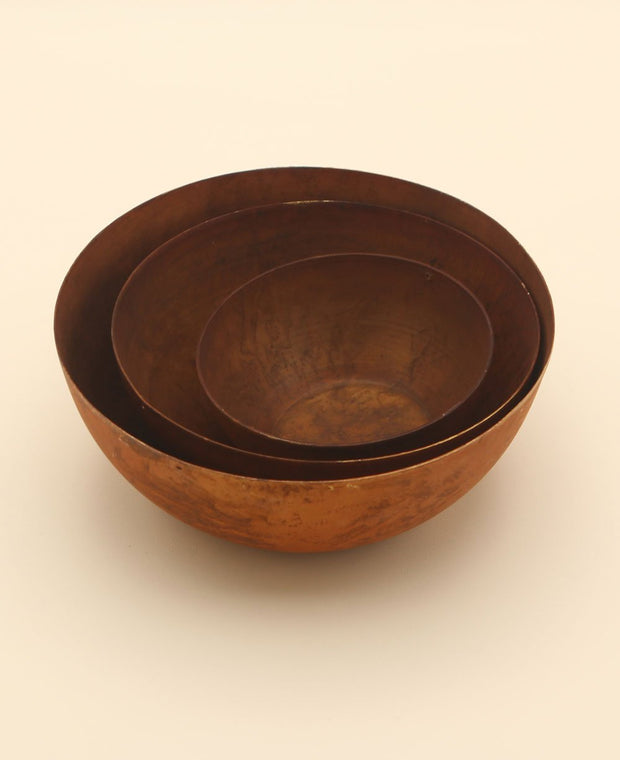 Copper Plated Bowls