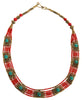 Beaded Tibetan Collar Necklace