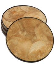 Capiz Shell Drink Coasters