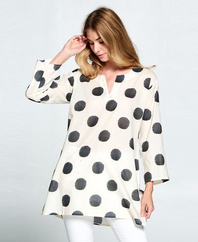 Indian Polka Dot Tunic