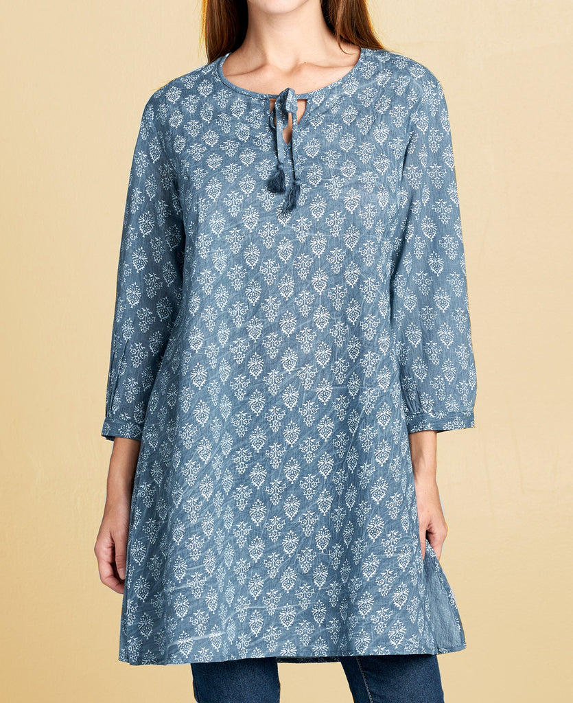 Indian Henna Tunic Dress