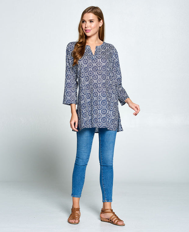 Kurti Indian Blue