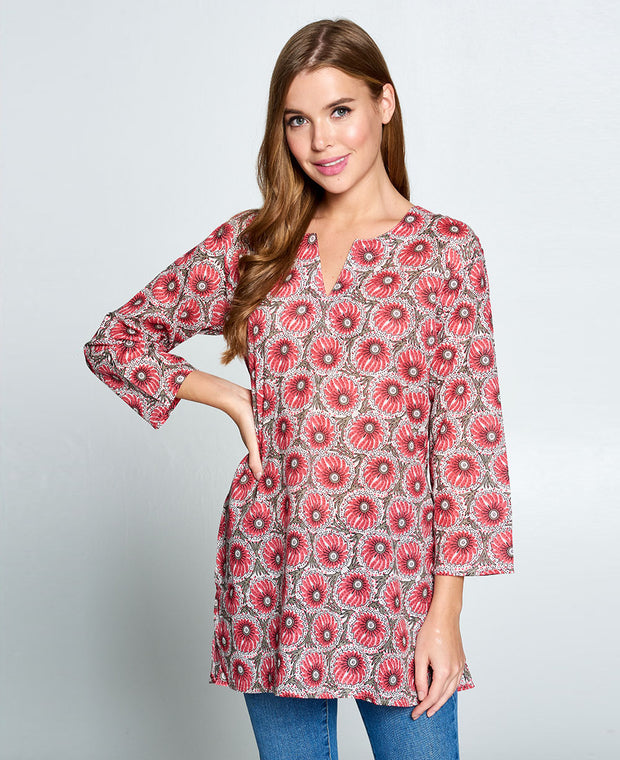 Cotton Pink Tunic