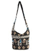 Delhi Nights Woven Bag with Double Pockets