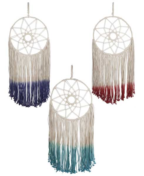Dyed Dream Catchers
