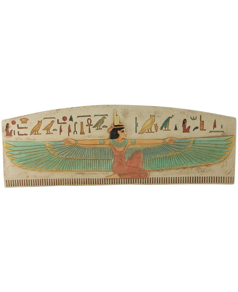 Kneeling Isis Colorful Egyptian Wall Art